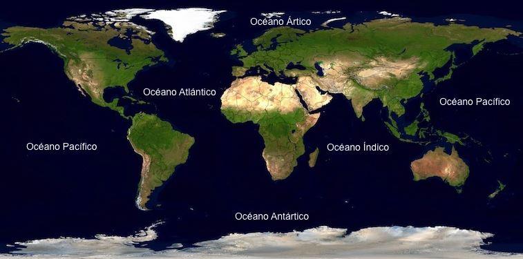 Cuantos oceanos hay