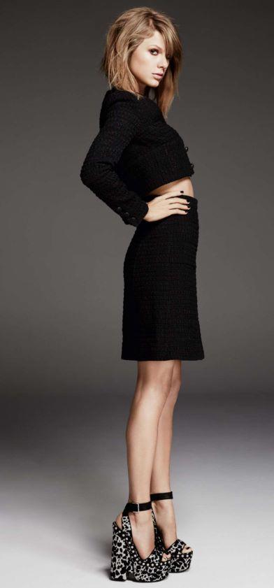 Cuanto mide y pesa Taylor Swift