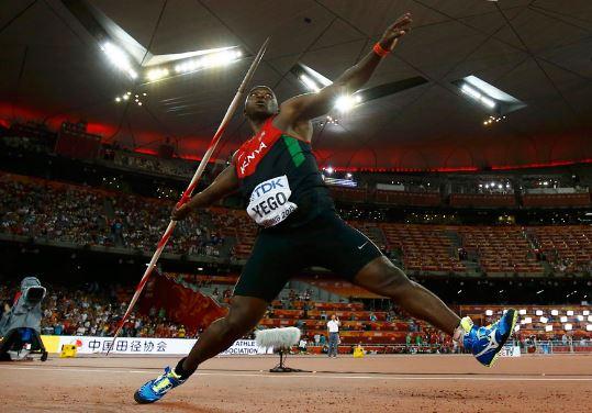 Cuanto pesa una jabalina olimpica