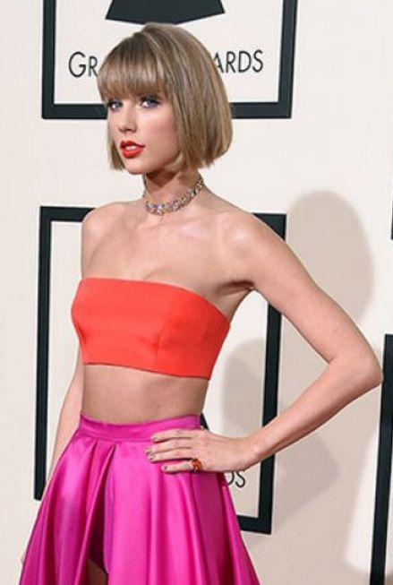 taylor swift estatura y peso