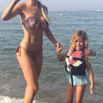 Cuanto mide y pesa Evangelina Anderson