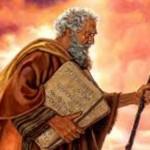 Donde recibio Moises los 10 mandamientos